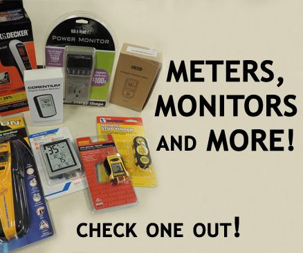 Meters, Monitors and More! Check one out!