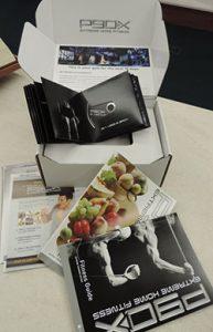 Croquet Set, Bag Toss game, P90X fitness box
